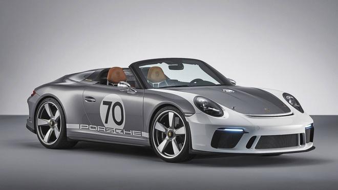Porsche tung sieu pham 911 Speedster phien ban ky niem 70 nam hinh anh