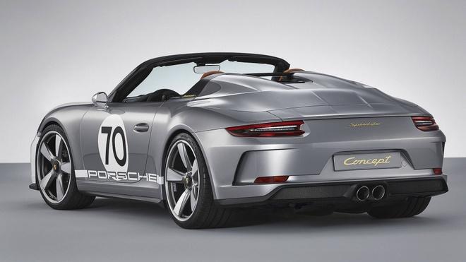 Porsche tung sieu pham 911 Speedster phien ban ky niem 70 nam hinh anh 4