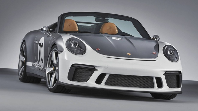 Porsche tung sieu pham 911 Speedster phien ban ky niem 70 nam hinh anh 11