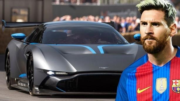 Messi so huu nhung xe gi trong bo suu tap cua minh? hinh anh