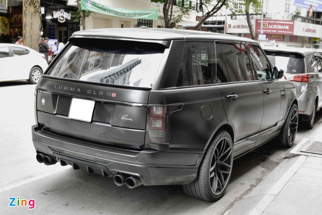 Range Rover LWB do ham ho tren pho Sai Gon hinh anh 6