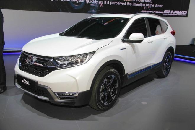 Honda CR-V moi co the la xe dien hinh anh