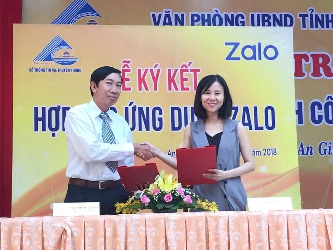 An Giang ung dung Zalo xay dung chinh quyen 4.0 hinh anh 1