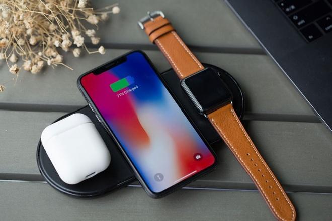 Bo sac khong day AirPower cua Apple se ban vao thang 9 hinh anh