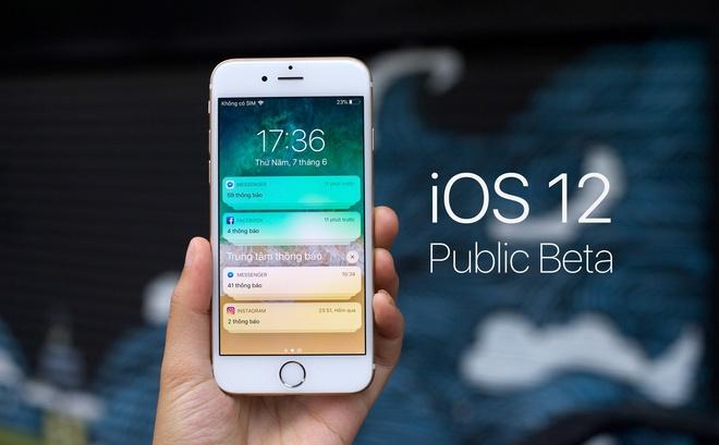 Da co the tai iOS 12 ban public beta hinh anh