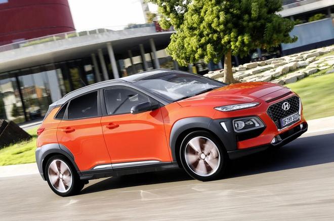 Hyundai Kona bo sung dong co diesel, gia tu 26.000 USD hinh anh