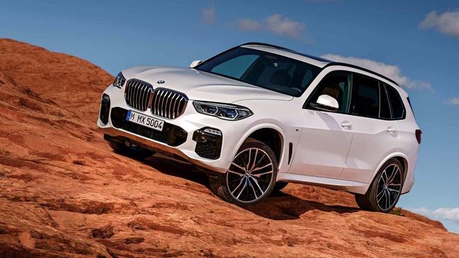 Chi tiet BMW X5 2019 manh me va hien dai, gia tu 60.700 USD hinh anh