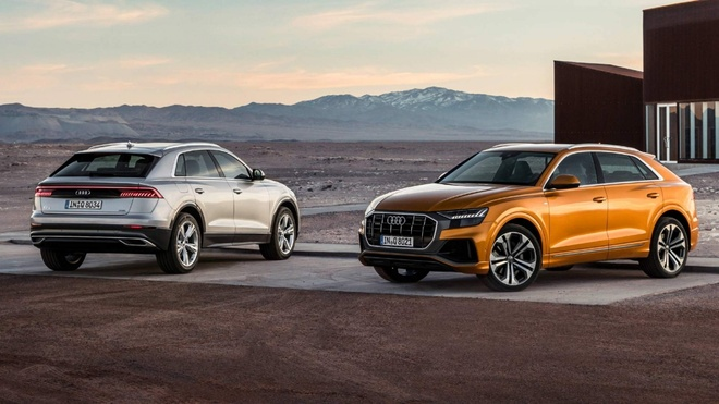 Sieu SUV Audi Q8 gia khoi diem tu 89.224 USD tai Duc hinh anh 1