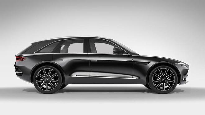 SUV dau tien cua Aston Martin co the trang bi dong co Mercedes hinh anh 1