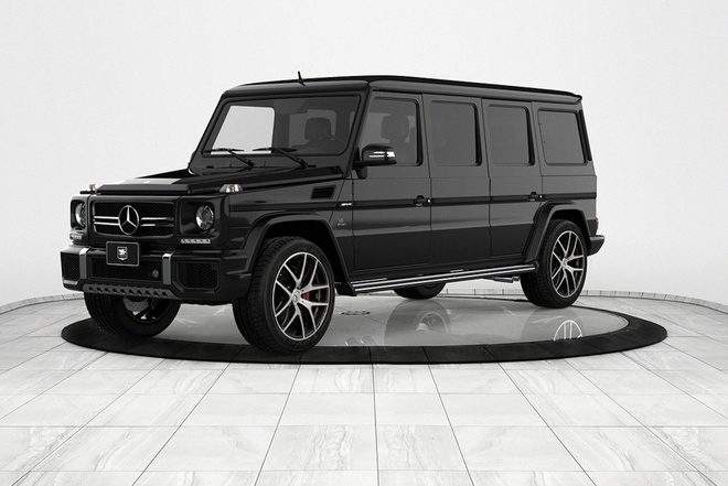 Chi tiet limo-SUV chong dan Mercedes-Benz G63 AMG gia trieu USD hinh anh
