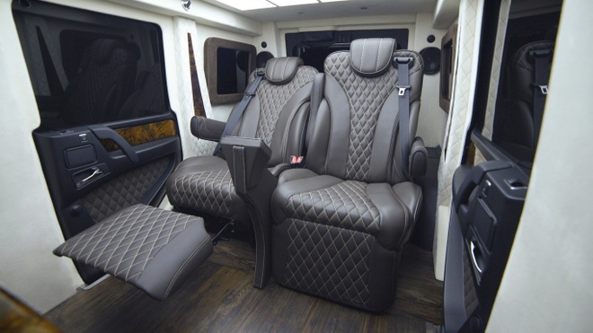 Sieu SUV Mercedes-Benz G63 AMG gia trieu USD anh 6