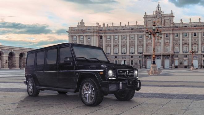 Chi tiet ban do limo-SUV chong dan Mercedes-Benz G63 AMG cua Inkas hinh anh