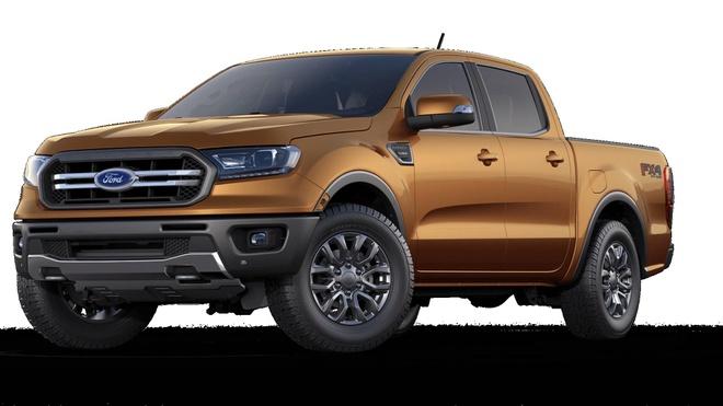 Ford Ranger 2019 lo cau hinh chinh thuc, gia tu 24.000 USD hinh anh