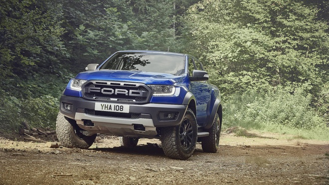 Ford Ranger Raptor ra mat thi truong chau Au vao nam 2019 hinh anh