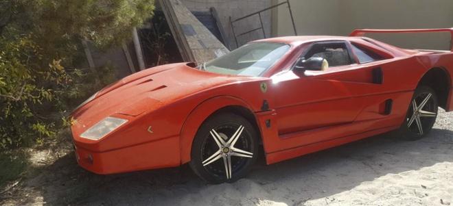 Sieu xe Ferrari F40 gia re mat 5.800 USD tren trang rao vat hinh anh 1