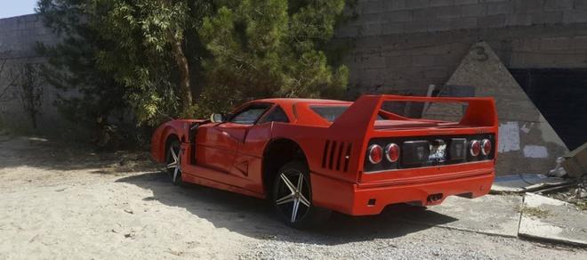 Sieu xe Ferrari F40 gia re mat 5.800 USD tren trang rao vat hinh anh 2