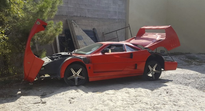 Sieu xe Ferrari F40 gia re mat 5.800 USD tren trang rao vat hinh anh 7
