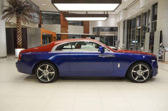 Rolls-Royce Wraith voi phoi mau doc nhat the gioi tai Abu Dhabi hinh anh 2