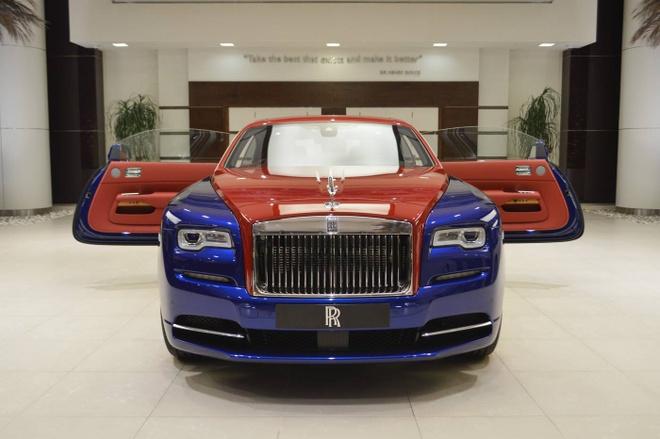 Rolls-Royce Wraith voi phoi mau doc nhat the gioi tai Abu Dhabi hinh anh 7