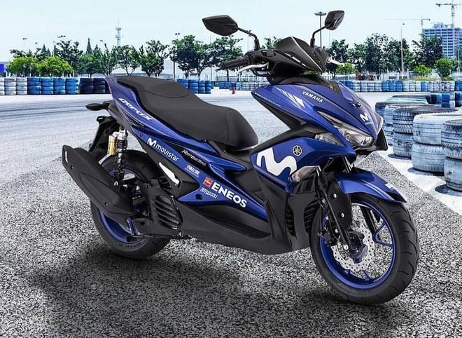 Yamaha NVX 155 GP Edition 2018 co gia 2.600 USD tai Malaysia hinh anh