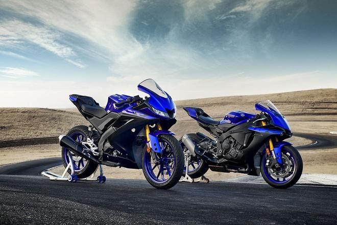 Yamaha YZF-R125 2019 ra mat, kieu dang va dong co moi hinh anh