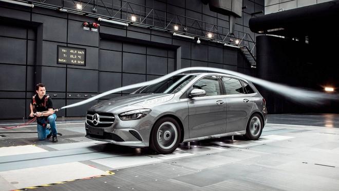 Mercedes-Benz B-Class 2019 ra mat, nang cap nhieu cong nghe hinh anh