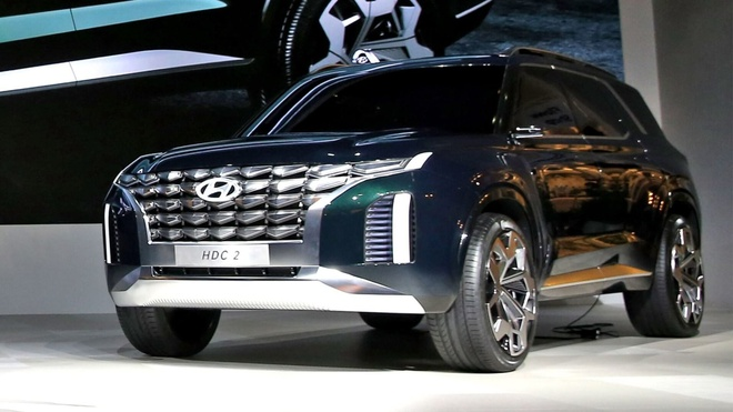 Hyundai Palisade - phien ban co bap cua Santa Fe lo dien hinh anh 2