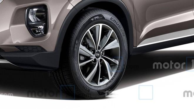 Hyundai Palisade - phien ban co bap cua Santa Fe lo dien hinh anh 5