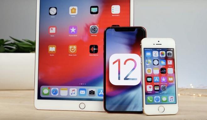 Hon mot nua iPhone, iPad toan cau da len iOS 12 du nhieu loi hinh anh