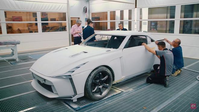 Nissan GT-R lot xac duoi ban tay hang thiet ke Italy hinh anh