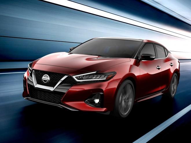 Anh Nissan Maxima 2019 truoc ngay ra mat hinh anh