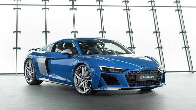 Audi R8 V10 2019 ra mat, manh me va the thao hon hinh anh