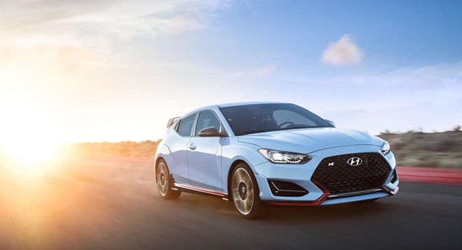 Hyundai Veloster N 2019 - hatchback the thao 3 cua tai xuat hinh anh