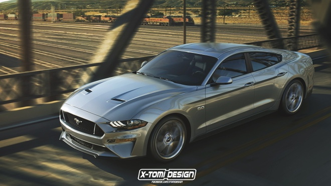 Ford Mustang se co them phien ban sedan the thao hinh anh 2