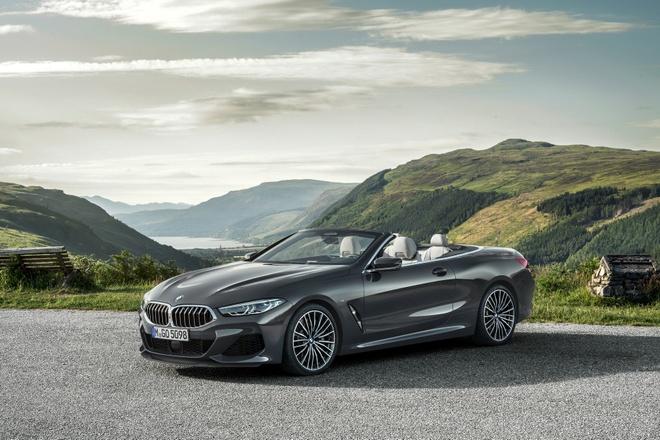 BMW 8-Series Convertible 2019 ra mat, gia tu 121.400 USD hinh anh