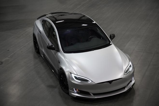 Tesla Model S phien ban than rong gia hon 200.000 USD hinh anh