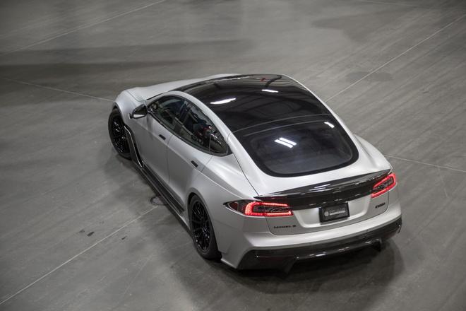 Tesla Model S phien ban than rong gia hon 200.000 USD hinh anh 5