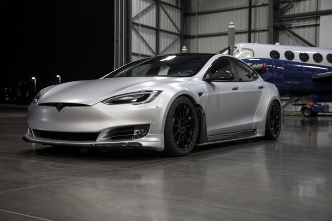 Tesla Model S phien ban than rong gia hon 200.000 USD hinh anh 2