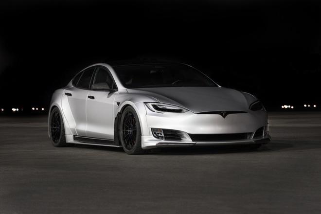 Tesla Model S phien ban than rong gia hon 200.000 USD hinh anh 6