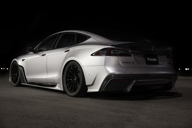 Tesla Model S phien ban than rong gia hon 200.000 USD hinh anh 9