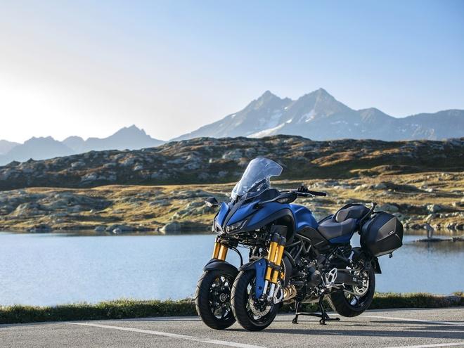 Moto phuot 3 banh Yamaha Niken GT ra mat, gia tu 17.300 USD hinh anh