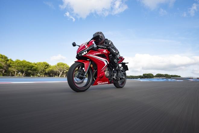 Honda CBR500R 2019 ra mat - thuan chat sportbike hon hinh anh