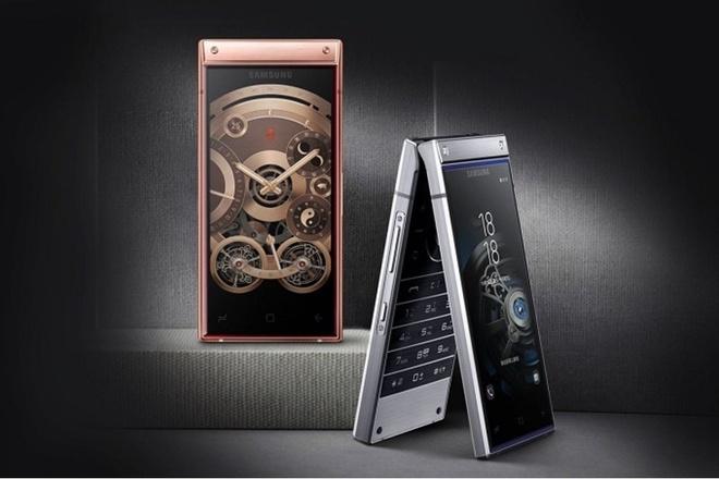 Smartphone nap gap, 2 man hinh gia gan 3.000 USD cua Samsung hinh anh