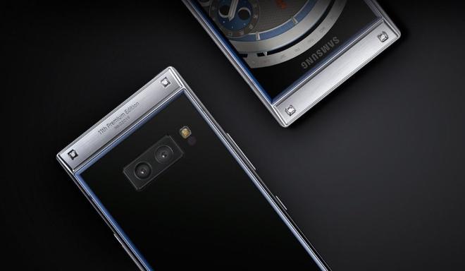 Smartphone nap gap, 2 man hinh gia gan 3.000 USD cua Samsung hinh anh 2