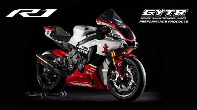 Yamaha YZF-R1 GYTR 2019 ra mat - gioi han chi 20 chiec hinh anh