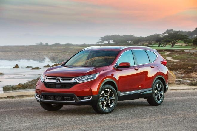 Them mau son, Honda CR-V 2019 tang gia 100 USD hinh anh