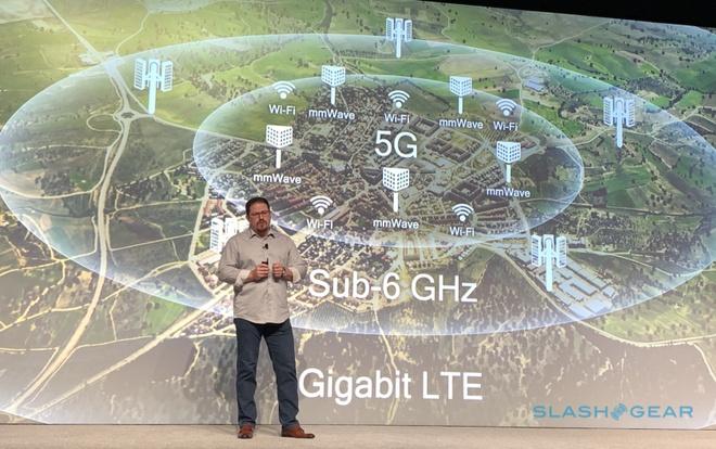 Trong tương lai gần, 5G sẽ bắt đầu truyền tải trên tần số dưới 6 GHz. Ảnh: Slash Gear.