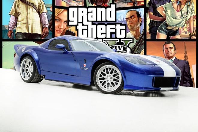 Xe ao trong game Grand Theft Auto duoc rao ban ngoai doi thuc hinh anh 1