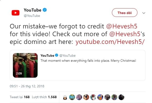 YouTube bi to chia se video khong dan nguon du hay bat loi ban quyen hinh anh 3