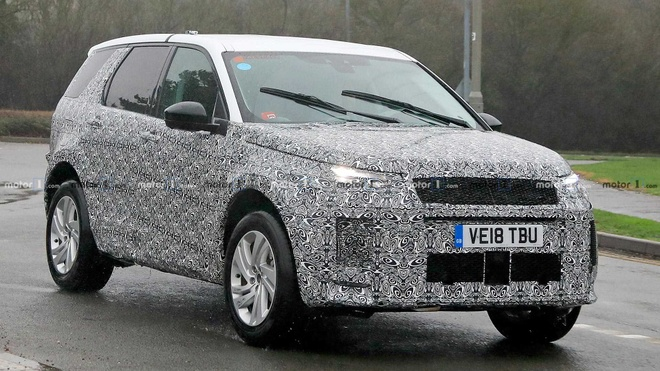 Land Rover Discovery Sport 2019 lo dien o Anh hinh anh 3